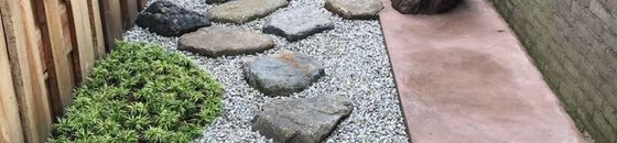 Japanese stepping stones