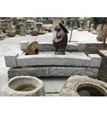 Antike Granit japanische Brücke