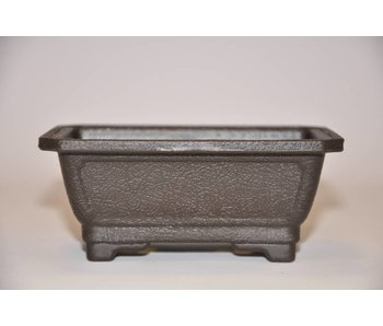Plastic rectangular pot  12cm