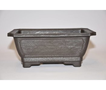 Plastic rectangular pot    18cm