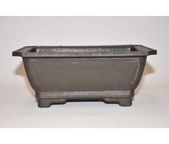 Kunststof rechthoekige pot 21cm