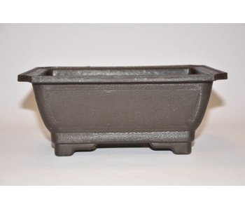 Plastic rectangular pot    21cm