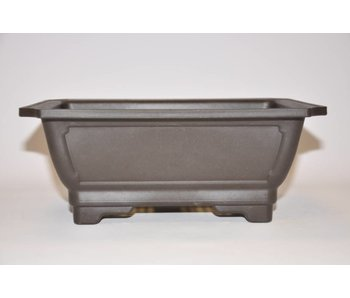 Plastic rectangular pot     24 cm