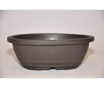 Plastic oval pot      12,6cm