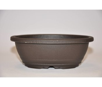 Plastic ovale pot 15,5 cm