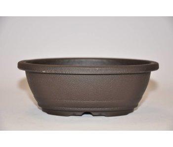 Pot ovale en plastique 15,5cm