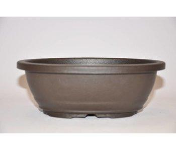 Plastic oval pot      18,5cm