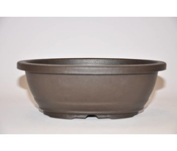 Vaso ovale in plastica 18,5 cm