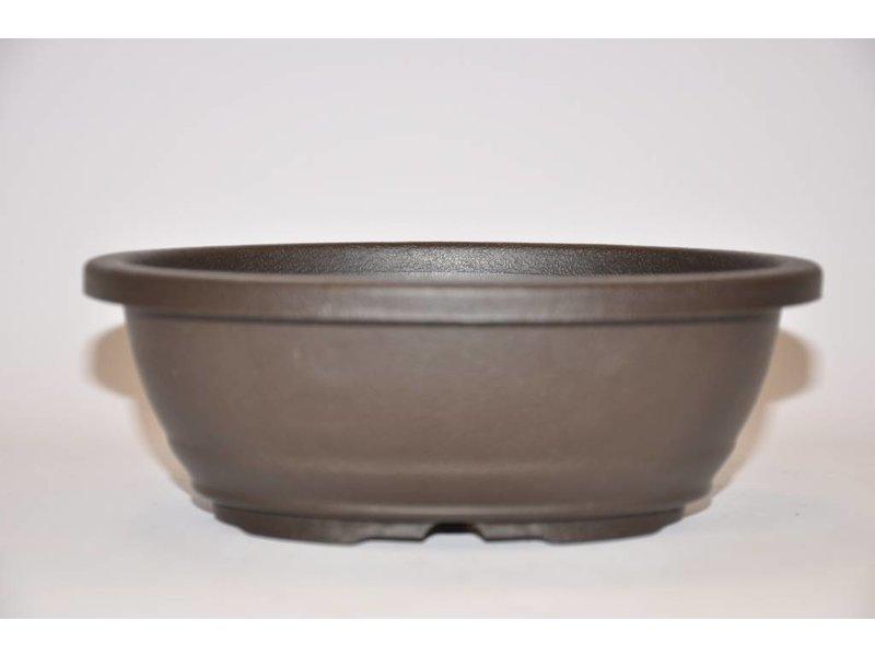 Plastic oval pot