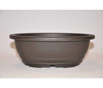 Plastic oval pot      21,7cm