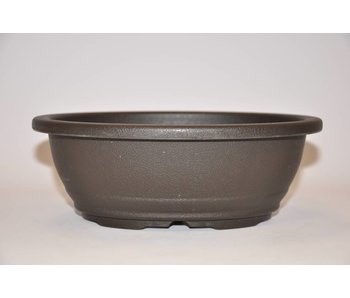 Vaso ovale in plastica 21,7cm