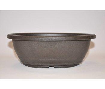 Kunststof ovale pot 24,5cm