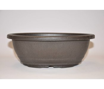 Vaso ovale in plastica 24,5 cm