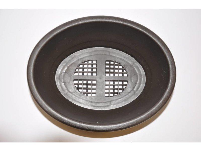 Oval aus Kunststoff