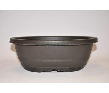 Vaso ovale in plastica da 29,3 cm