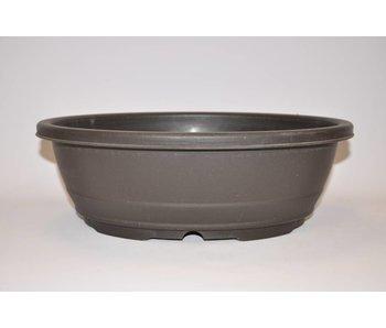 Pot ovale en plastique 37,6cm