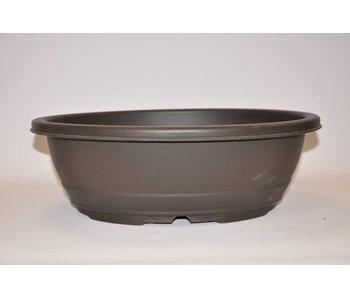 Kunststof ovale pot 43,6cm