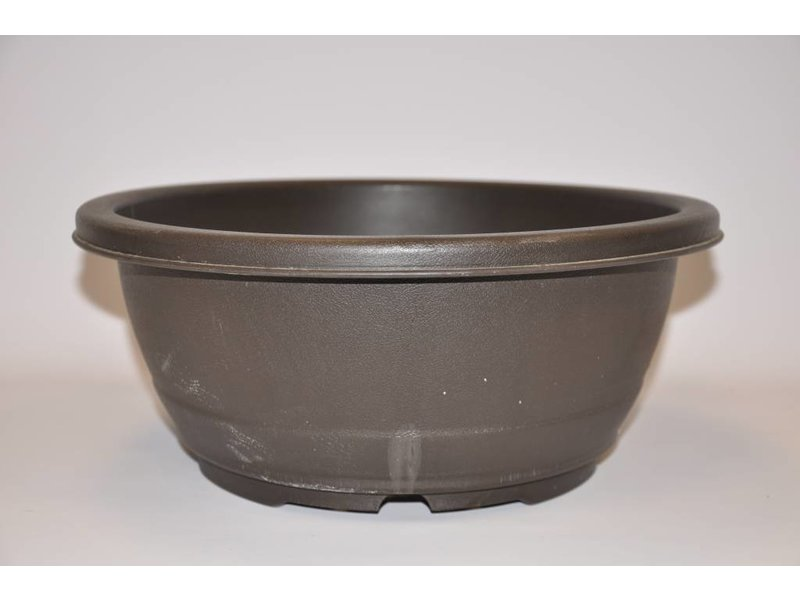 Plastic oval pot
