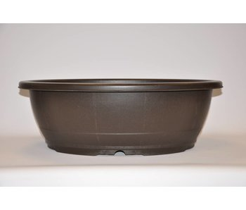 Plastic ovale pot 60cm