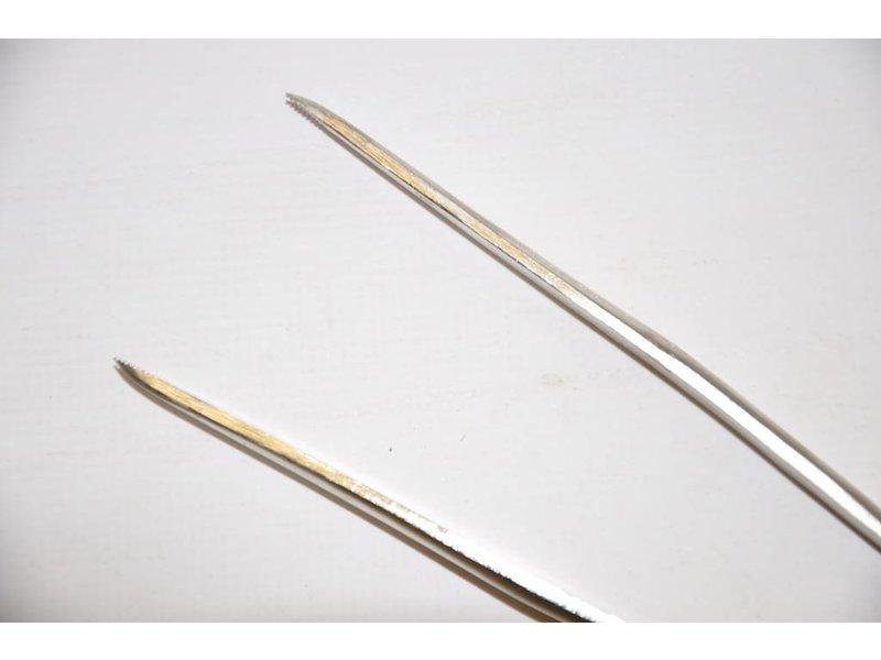 Stainless steel Tweezers 185mm
