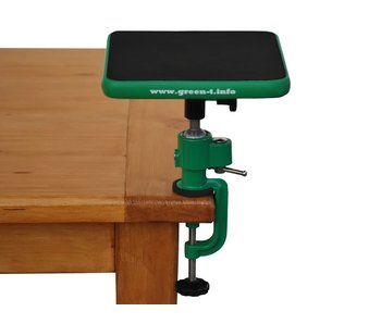 NEW Green T Mini V - Shohin Bonsai Work Table Model V