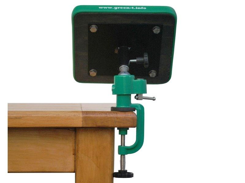 NEW Green T Mini V - Shohin Bonsai Work Table Model V