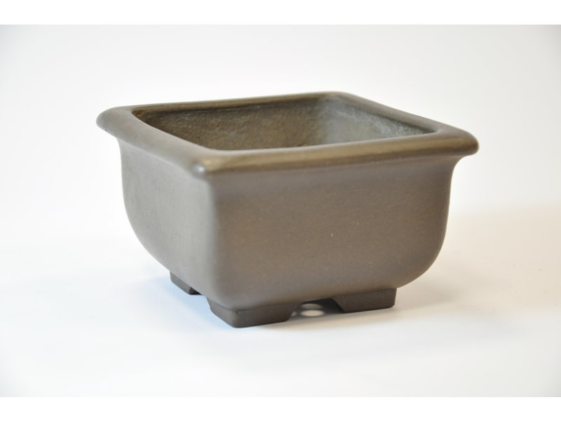 Yamaaki Tokoname - Square pot - 102 x 103 x 61 mm