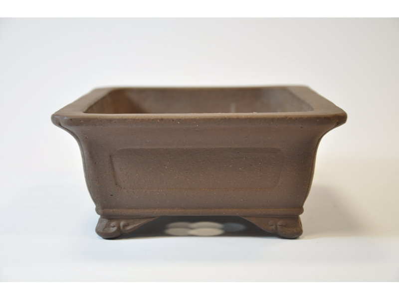 Yamaaki Tokoname - Rectangular pot - 197 x 149 x 67 mm