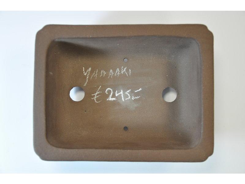 Yamaaki Tokoname - Rechteckiger Topf - 197 x 149 x 67 mm