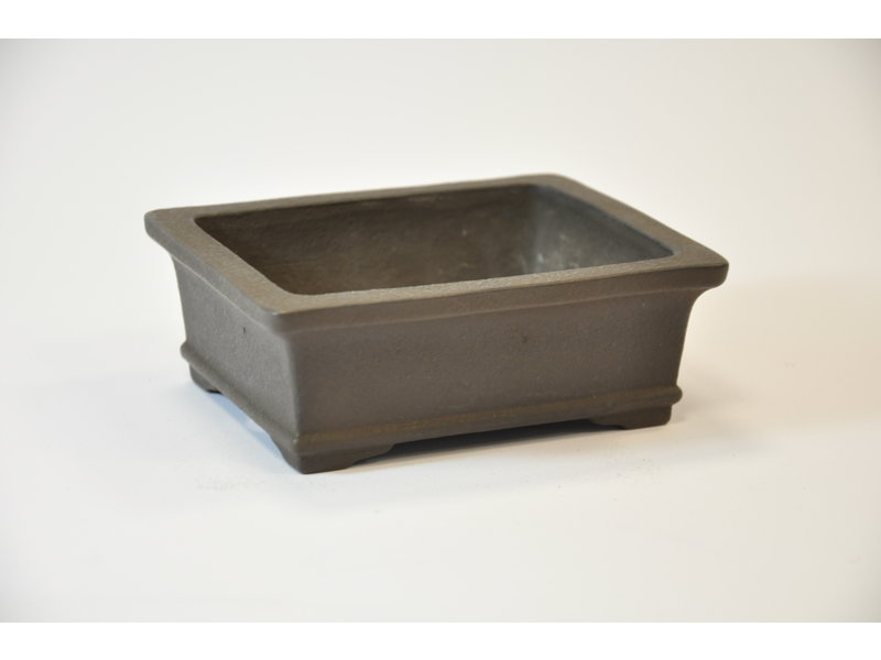 Yamaaki Tokoname - Rectangular pot - 130 x 105 x 47 mm