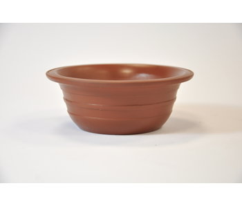 Round unglazed Tokoname pot 10 cm