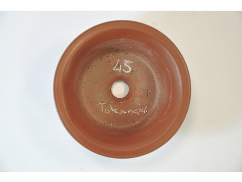 Tokoname - handgemacht - runder Topf - 100 mm