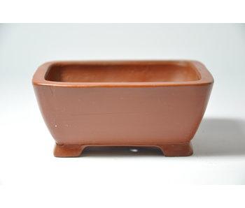 Olla rectangular sin esmaltar Shibakatsu - 103 mm