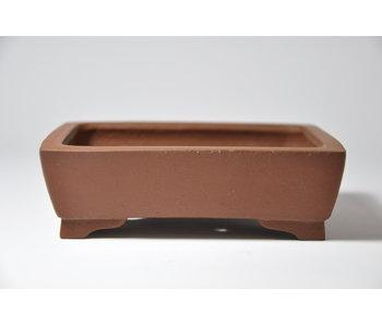 Olla rectangular sin esmaltar Shibakatsu - 125 mm
