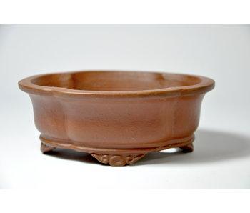 Mokko unglazed Shibakatsu pot - 126 mm