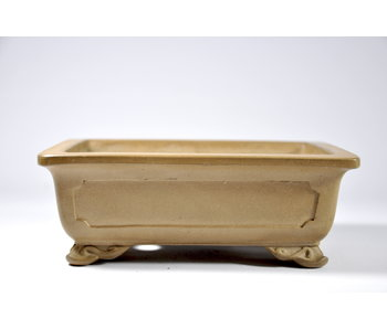 Rectangular unglazed  pot - 158 mm