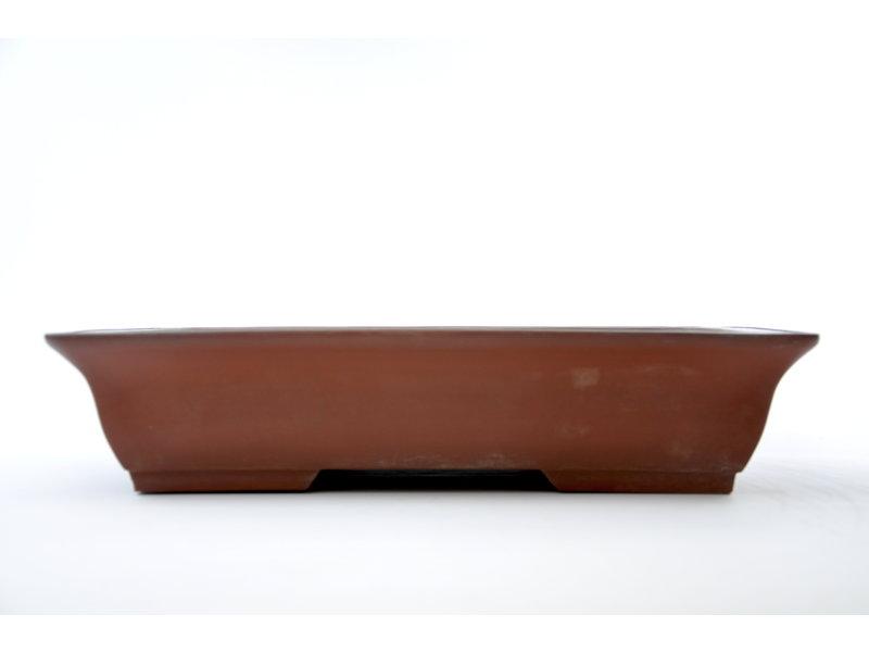 Rechthoekige ongeglazuurde pot - 430 x 305 x 100 mm