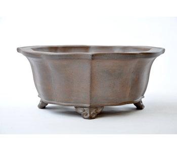 Mokko non smaltato Reiho, vaso di seconda generazione - 240 mm