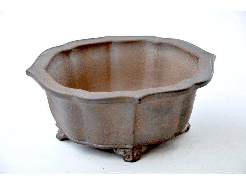 Mokko non smaltato Reiho, vaso di seconda generazione - 240 x 215 x 100 mm