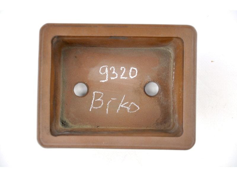 Vaso Bikou rettangolare non smaltato - 155 x 125 x 60 mm