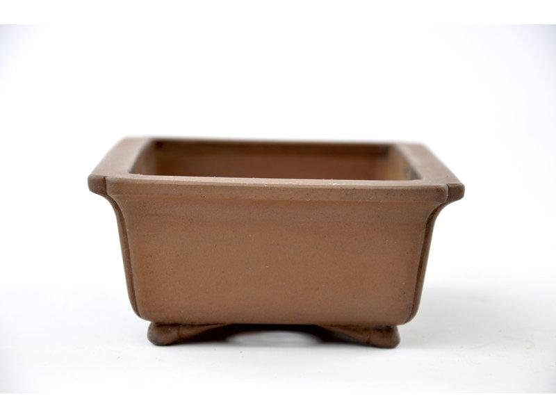 Pot Bikou rectangulaire non émaillé - 160 x 125 x 55 mm