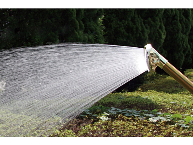 Professional watering nozzle by Takagi for thick hoses - 340 mm