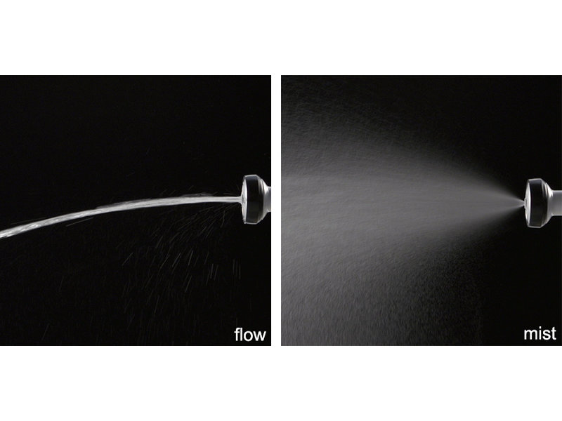 Pro Grip Garden Shower, 6 watering patterns, water volume regulation, regular hose size