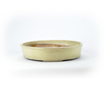 Pot Shuhou rond blanc - 300 mm