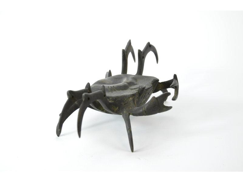 Tenpai Crab, bronze, 220 mm