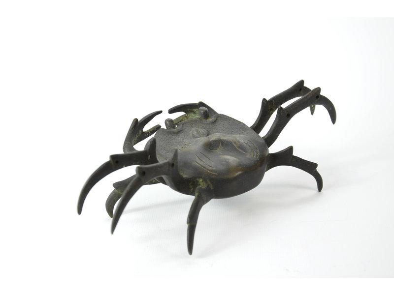 Cangrejo Tenpai, bronce, 220 mm