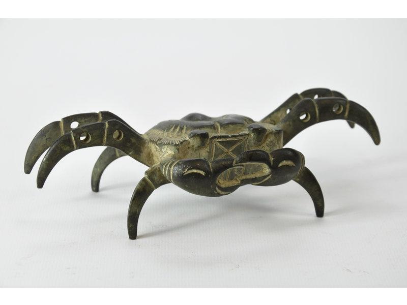 Tenpai Crab, bronze, 160 mm