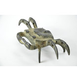 Cangrejo Tenpai, bronce, 160 mm