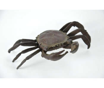 Tenpai Crab, bronze, 115 mm