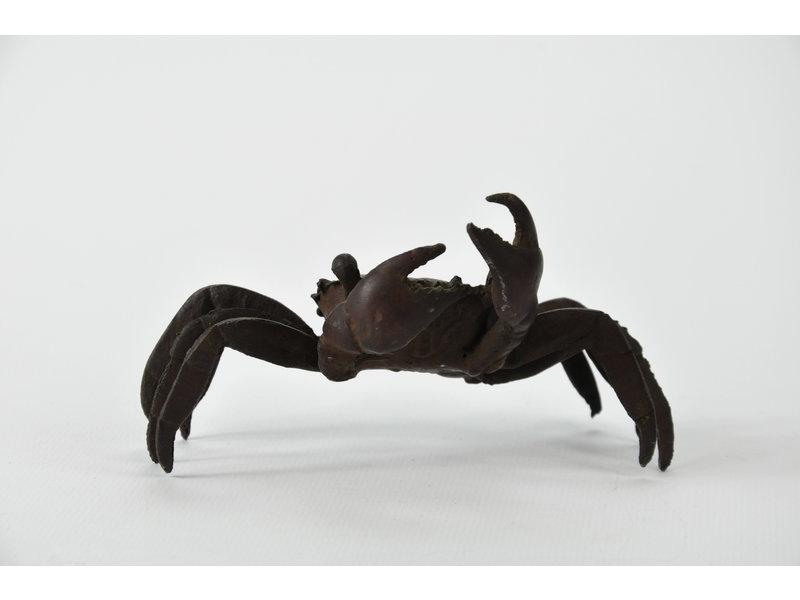 Tenpai Crab, bronze, 115 mm